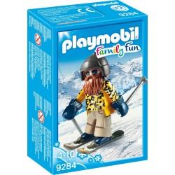 Playmobil esquiador snowblades 9284