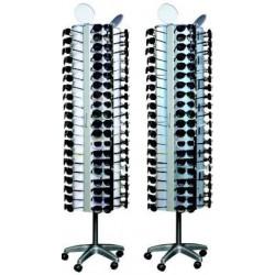 Expositor de óculos 100 unidades 198*53*53 cm ac01047