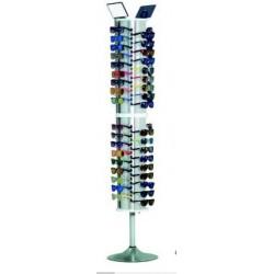 Expositor de óculos 72 unidades 190*40*40cm ac01070