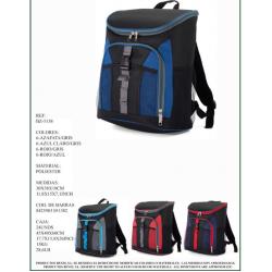 Mochila térmica com bolsos exteriores 30*38*18cm  bz5138