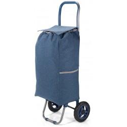 Carro de compras em poliester com 2 rodas 31*5620cm bz5584