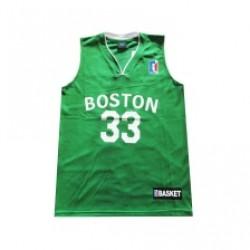Camisola basket adulto verde Boston s-xxl dapl5503