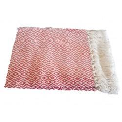 Manta nacional 100% algodão losângulos 135*200cm