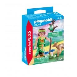 Playmobil fada com o veado 70059