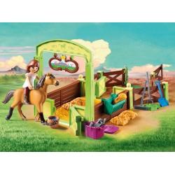 Playmobil estabulo cavalos lucky e spirit 9478