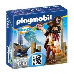 Playmobil avent. sharkbeard 4798