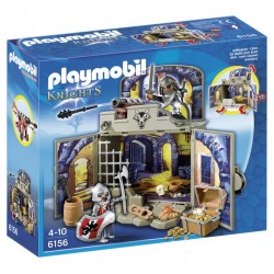 Playmobil gr. cofre sala tesouro cavaleiros 6156