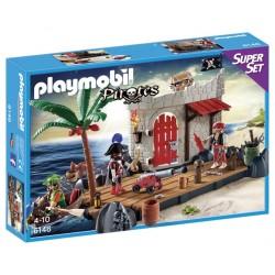 Playmobil gr. super set forte dos piratas 6146